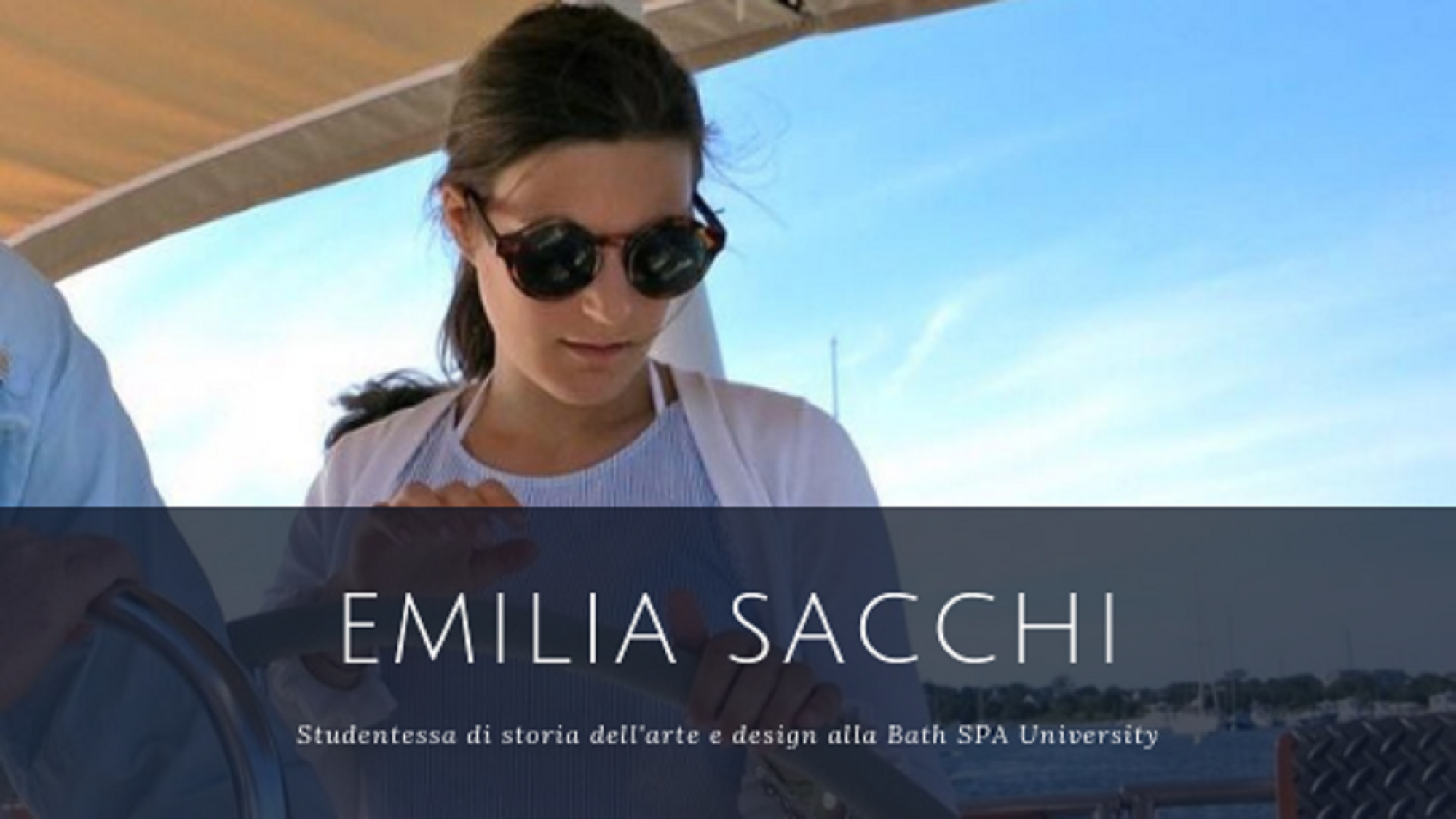 Studentessa in inghilterra, Emilia Sacchi, foundation year e percorso universiatario