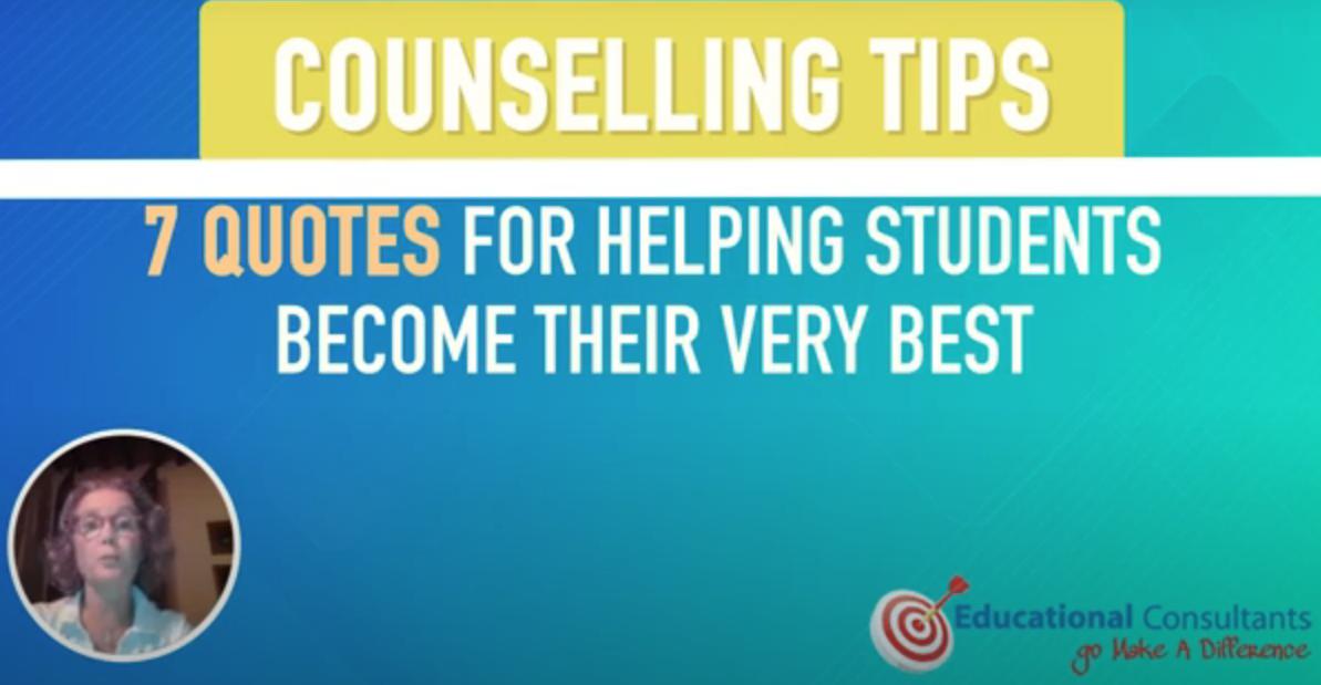 IEU Global Counselors Academy – Final Task – Counseling Tips